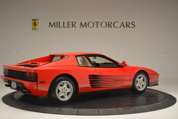 Used 1990 Ferrari Testarossa for sale Sold at Aston Martin of Greenwich in Greenwich CT 06830 8