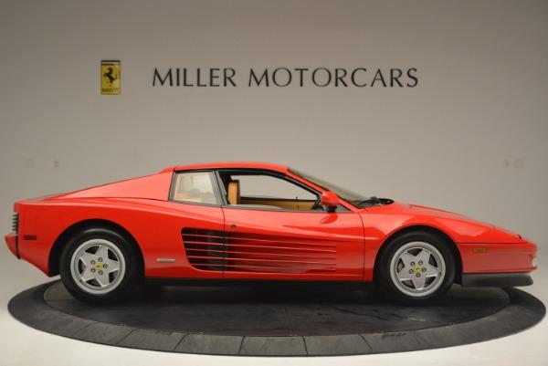 Used 1990 Ferrari Testarossa for sale Sold at Aston Martin of Greenwich in Greenwich CT 06830 9