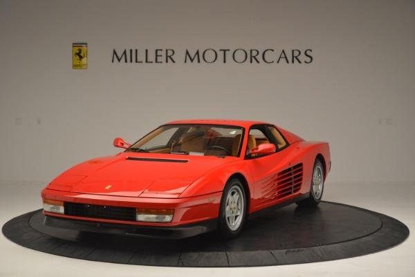 Used 1990 Ferrari Testarossa for sale Sold at Aston Martin of Greenwich in Greenwich CT 06830 1