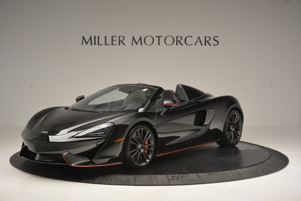 Used 2018 McLaren 570S Spider for sale Sold at Aston Martin of Greenwich in Greenwich CT 06830 2