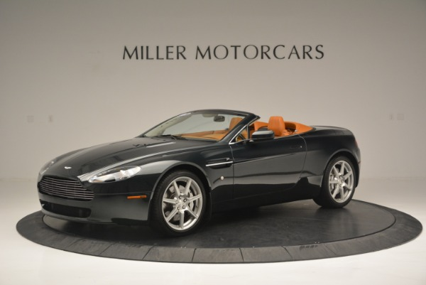 Used 2008 Aston Martin V8 Vantage Roadster for sale Sold at Aston Martin of Greenwich in Greenwich CT 06830 2