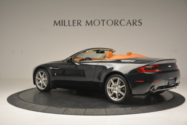Used 2008 Aston Martin V8 Vantage Roadster for sale Sold at Aston Martin of Greenwich in Greenwich CT 06830 4