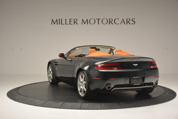 Used 2008 Aston Martin V8 Vantage Roadster for sale Sold at Aston Martin of Greenwich in Greenwich CT 06830 5