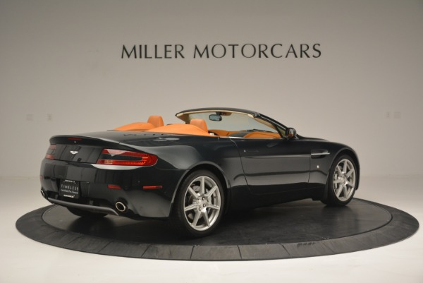 Used 2008 Aston Martin V8 Vantage Roadster for sale Sold at Aston Martin of Greenwich in Greenwich CT 06830 8