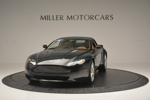 Used 2008 Aston Martin V8 Vantage Roadster for sale Sold at Aston Martin of Greenwich in Greenwich CT 06830 9