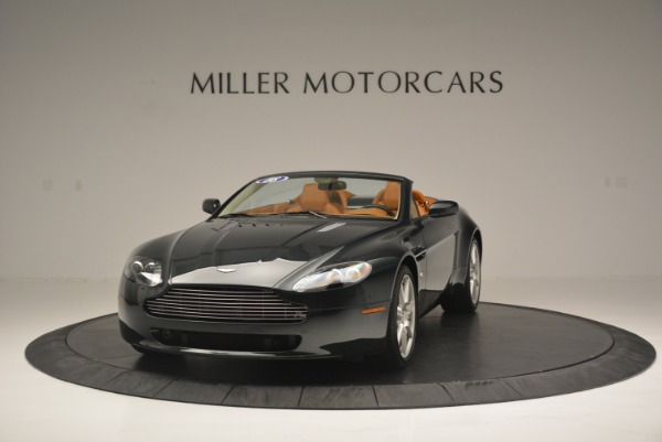 Used 2008 Aston Martin V8 Vantage Roadster for sale Sold at Aston Martin of Greenwich in Greenwich CT 06830 1
