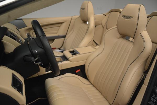 Used 2016 Aston Martin DB9 GT Volante for sale Sold at Aston Martin of Greenwich in Greenwich CT 06830 26