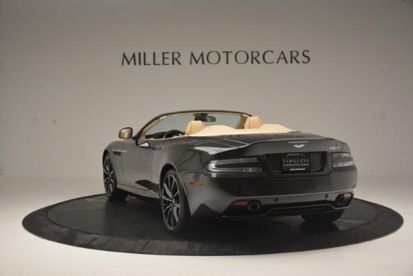 Used 2016 Aston Martin DB9 GT Volante for sale Sold at Aston Martin of Greenwich in Greenwich CT 06830 5