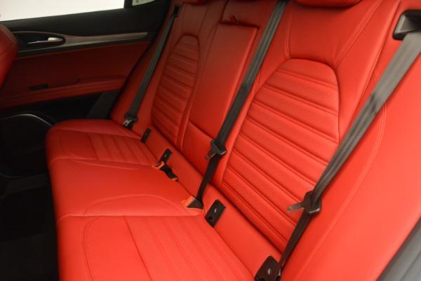 Used 2018 Alfa Romeo Stelvio Ti Sport Q4 for sale $36,900 at Aston Martin of Greenwich in Greenwich CT 06830 17