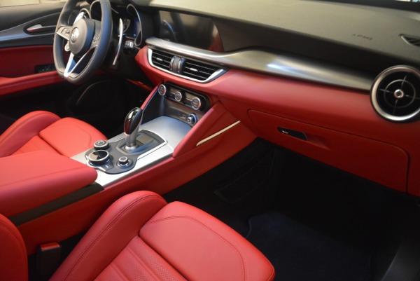 Used 2018 Alfa Romeo Stelvio Ti Sport Q4 for sale $36,900 at Aston Martin of Greenwich in Greenwich CT 06830 23