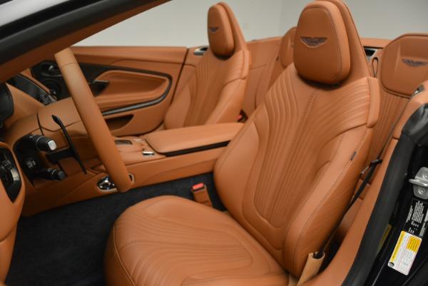 New 2019 Aston Martin DB11 Volante Volante for sale Sold at Aston Martin of Greenwich in Greenwich CT 06830 22