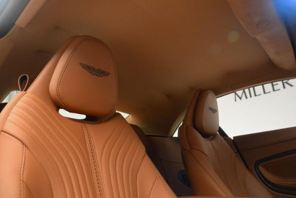 New 2019 Aston Martin DB11 Volante Volante for sale Sold at Aston Martin of Greenwich in Greenwich CT 06830 27