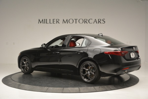 New 2018 Alfa Romeo Giulia Q4 for sale Sold at Aston Martin of Greenwich in Greenwich CT 06830 4