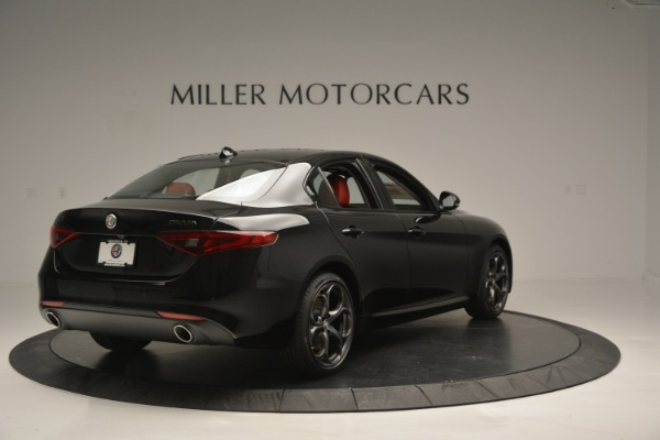 New 2018 Alfa Romeo Giulia Q4 for sale Sold at Aston Martin of Greenwich in Greenwich CT 06830 6