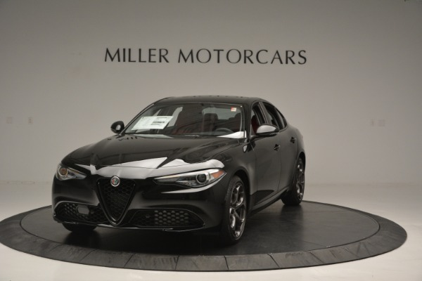 New 2018 Alfa Romeo Giulia Q4 for sale Sold at Aston Martin of Greenwich in Greenwich CT 06830 1
