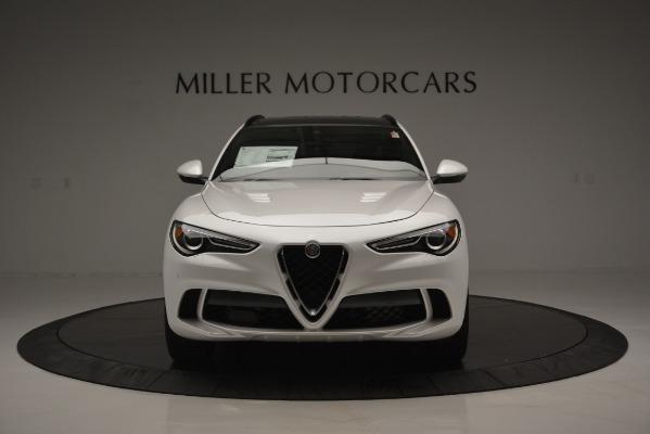 New 2018 Alfa Romeo Stelvio Quadrifoglio Quadrifoglio for sale Sold at Aston Martin of Greenwich in Greenwich CT 06830 16