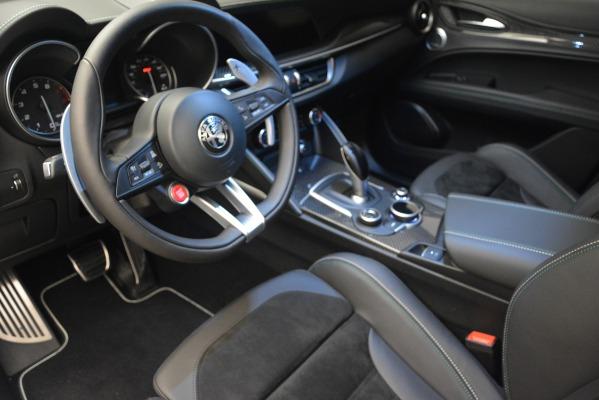 New 2018 Alfa Romeo Stelvio Quadrifoglio Quadrifoglio for sale Sold at Aston Martin of Greenwich in Greenwich CT 06830 19