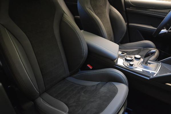 New 2018 Alfa Romeo Stelvio Quadrifoglio Quadrifoglio for sale Sold at Aston Martin of Greenwich in Greenwich CT 06830 22