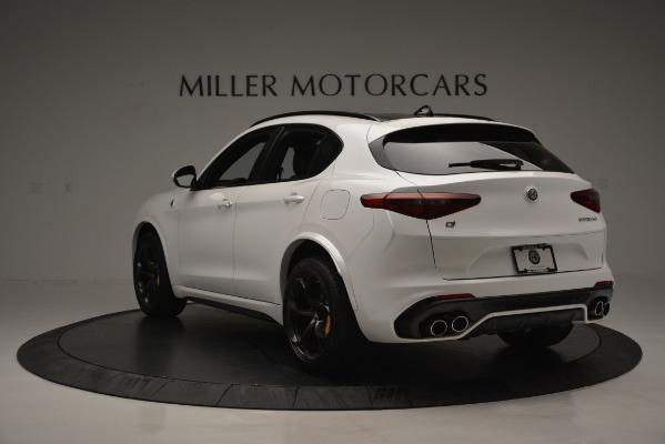 New 2018 Alfa Romeo Stelvio Quadrifoglio Quadrifoglio for sale Sold at Aston Martin of Greenwich in Greenwich CT 06830 5