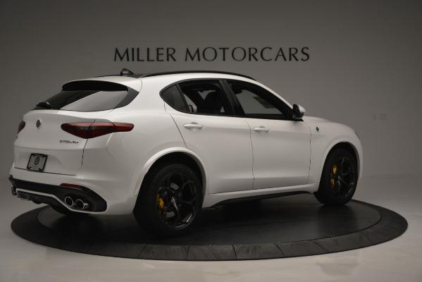 New 2018 Alfa Romeo Stelvio Quadrifoglio Quadrifoglio for sale Sold at Aston Martin of Greenwich in Greenwich CT 06830 9