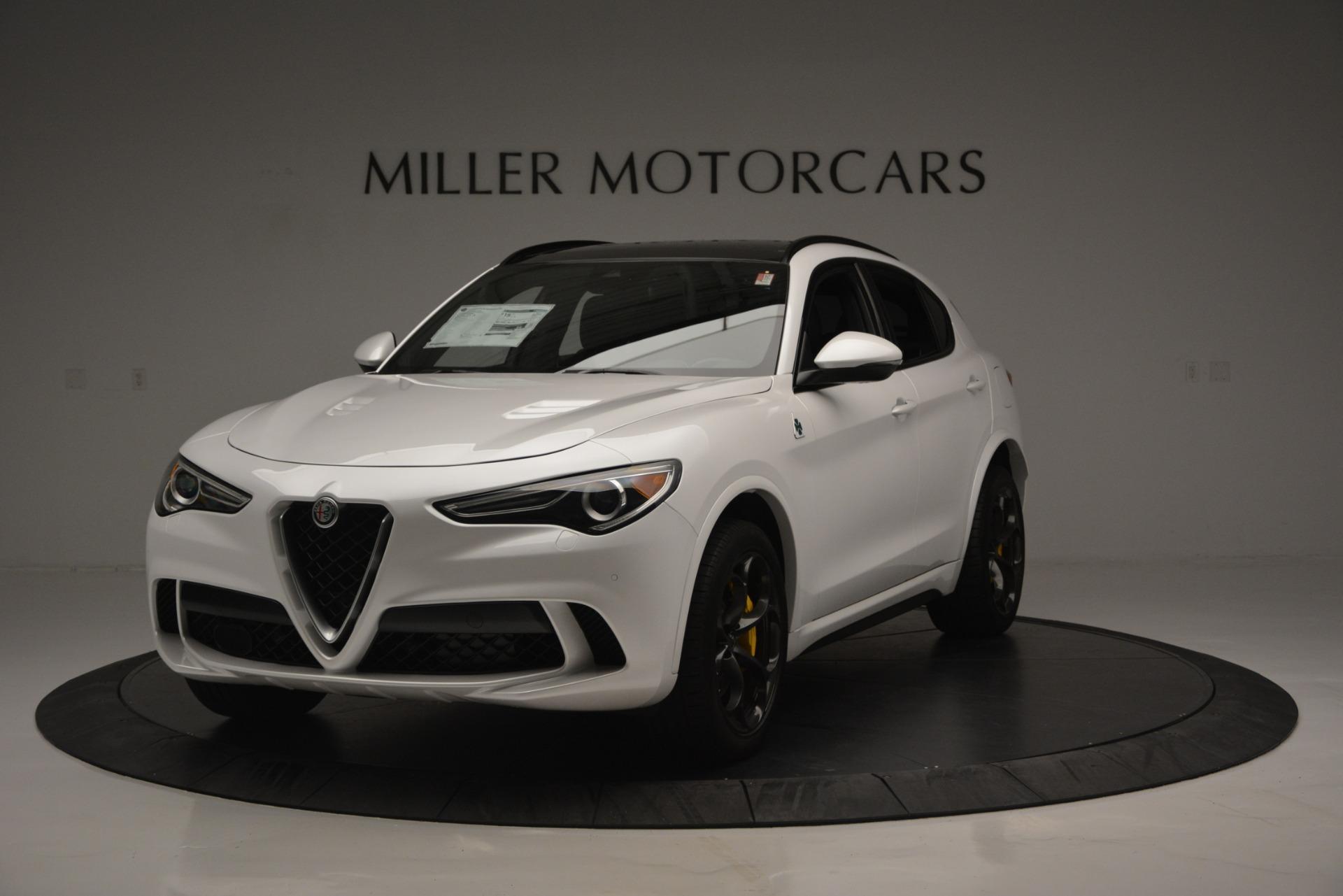 New 2018 Alfa Romeo Stelvio Quadrifoglio Quadrifoglio for sale Sold at Aston Martin of Greenwich in Greenwich CT 06830 1