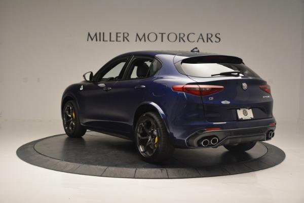 New 2018 Alfa Romeo Stelvio Quadrifoglio for sale Sold at Aston Martin of Greenwich in Greenwich CT 06830 5
