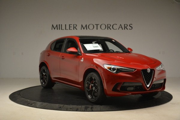 New 2018 Alfa Romeo Stelvio Quadrifoglio for sale Sold at Aston Martin of Greenwich in Greenwich CT 06830 11