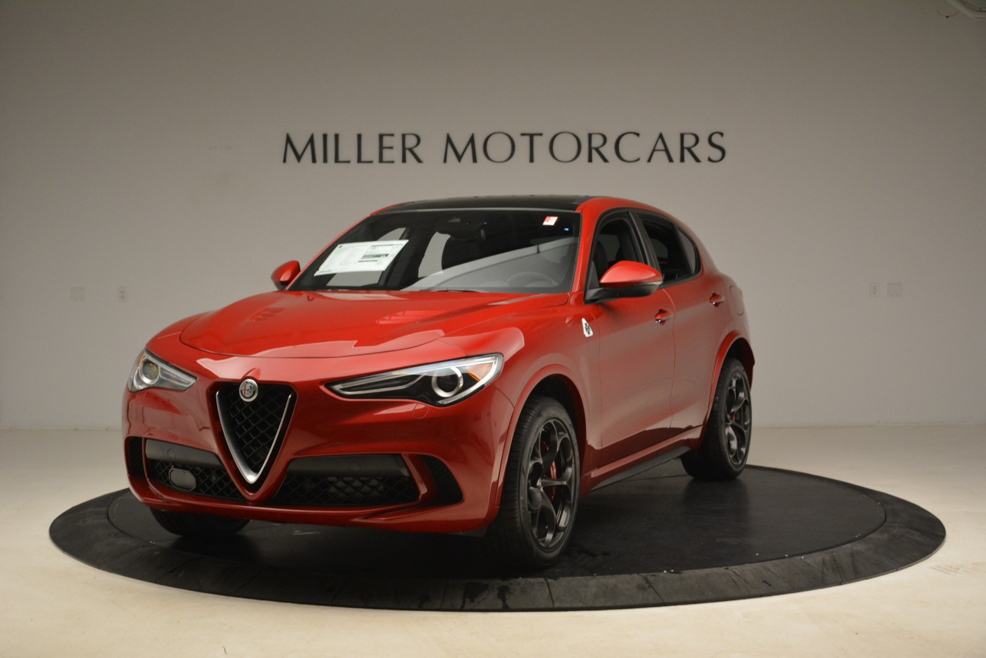 New 2018 Alfa Romeo Stelvio Quadrifoglio for sale Sold at Aston Martin of Greenwich in Greenwich CT 06830 1