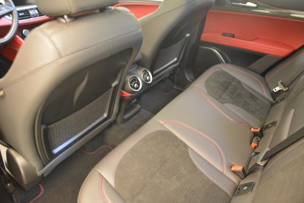 New 2018 Alfa Romeo Stelvio Quadrifoglio for sale Sold at Aston Martin of Greenwich in Greenwich CT 06830 16