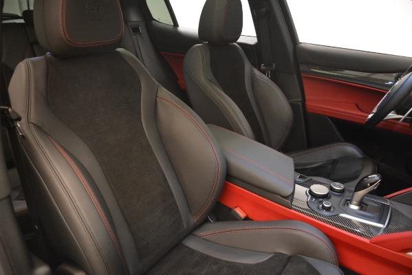 New 2018 Alfa Romeo Stelvio Quadrifoglio for sale Sold at Aston Martin of Greenwich in Greenwich CT 06830 21