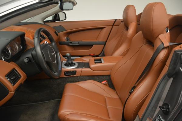 Used 2015 Aston Martin V8 Vantage Roadster for sale Sold at Aston Martin of Greenwich in Greenwich CT 06830 19