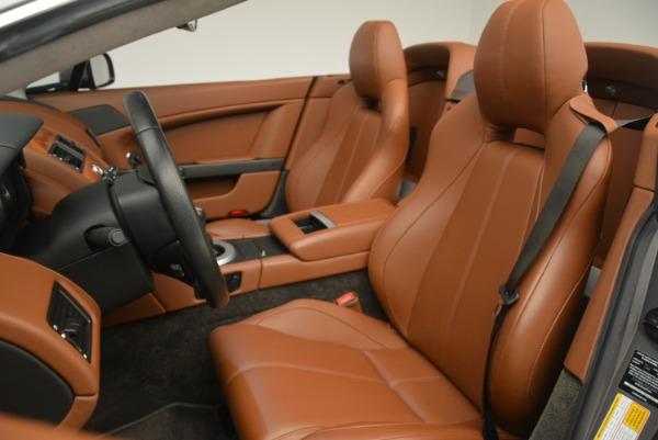 Used 2015 Aston Martin V8 Vantage Roadster for sale Sold at Aston Martin of Greenwich in Greenwich CT 06830 21