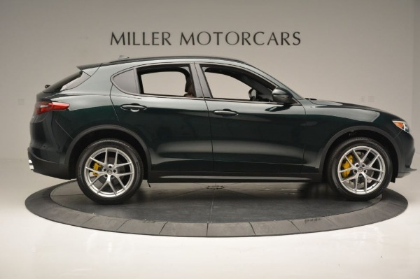New 2018 Alfa Romeo Stelvio Ti Sport Q4 for sale Sold at Aston Martin of Greenwich in Greenwich CT 06830 10