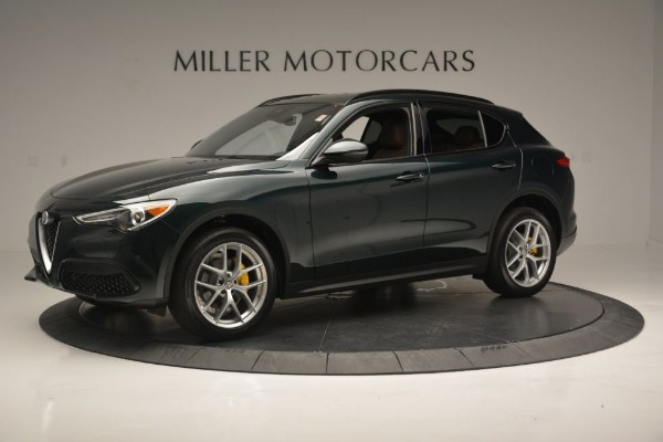 New 2018 Alfa Romeo Stelvio Ti Sport Q4 for sale Sold at Aston Martin of Greenwich in Greenwich CT 06830 3