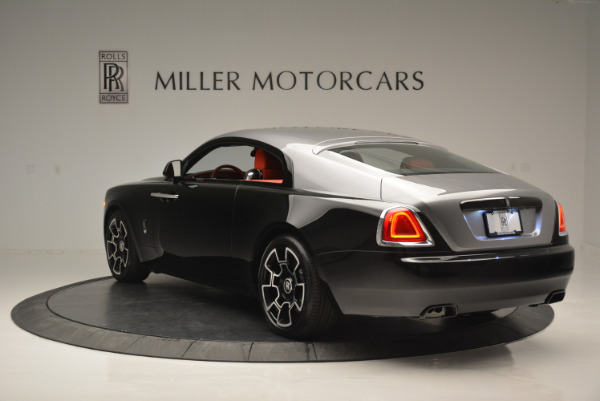New 2018 Rolls-Royce Wraith Black Badge for sale Sold at Aston Martin of Greenwich in Greenwich CT 06830 3