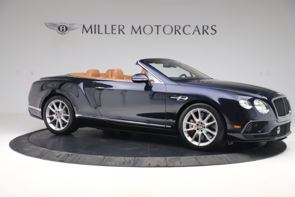 Used 2016 Bentley Continental GTC V8 S for sale Sold at Aston Martin of Greenwich in Greenwich CT 06830 10
