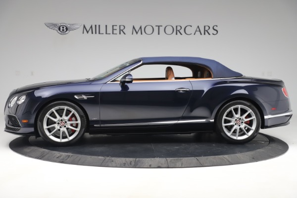 Used 2016 Bentley Continental GTC V8 S for sale Sold at Aston Martin of Greenwich in Greenwich CT 06830 14