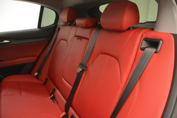 New 2018 Alfa Romeo Stelvio Ti Q4 for sale Sold at Aston Martin of Greenwich in Greenwich CT 06830 18