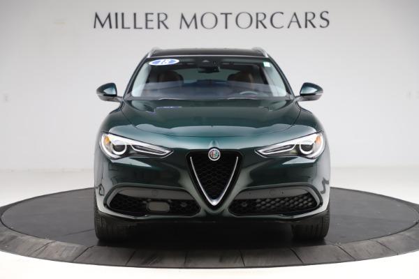 Used 2018 Alfa Romeo Stelvio Ti Q4 for sale $32,900 at Aston Martin of Greenwich in Greenwich CT 06830 12
