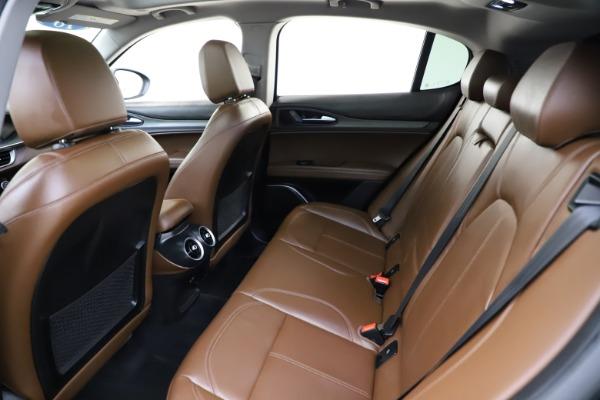 Used 2018 Alfa Romeo Stelvio Ti Q4 for sale $32,900 at Aston Martin of Greenwich in Greenwich CT 06830 19