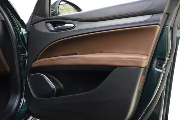 Used 2018 Alfa Romeo Stelvio Ti Q4 for sale $32,900 at Aston Martin of Greenwich in Greenwich CT 06830 25