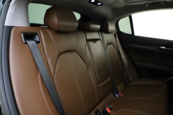 Used 2018 Alfa Romeo Stelvio Ti Q4 for sale $32,900 at Aston Martin of Greenwich in Greenwich CT 06830 26