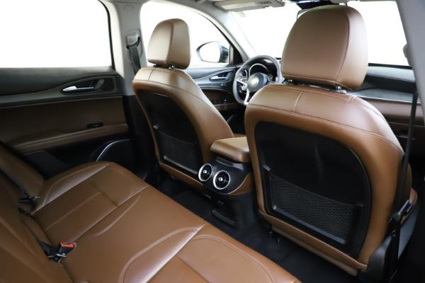 Used 2018 Alfa Romeo Stelvio Ti Q4 for sale $32,900 at Aston Martin of Greenwich in Greenwich CT 06830 28