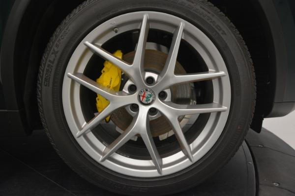 New 2018 Alfa Romeo Stelvio Ti Lusso Q4 for sale Sold at Aston Martin of Greenwich in Greenwich CT 06830 27