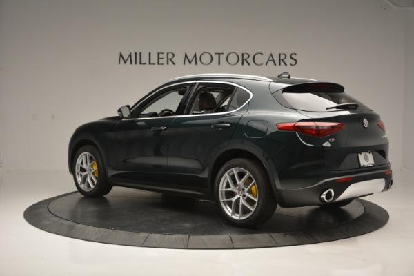 New 2018 Alfa Romeo Stelvio Ti Lusso Q4 for sale Sold at Aston Martin of Greenwich in Greenwich CT 06830 4