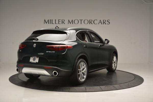 New 2018 Alfa Romeo Stelvio Ti Lusso Q4 for sale Sold at Aston Martin of Greenwich in Greenwich CT 06830 8