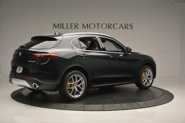 New 2018 Alfa Romeo Stelvio Ti Lusso Q4 for sale Sold at Aston Martin of Greenwich in Greenwich CT 06830 9