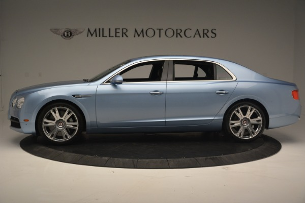 New 2018 Bentley Flying Spur V8 for sale Sold at Aston Martin of Greenwich in Greenwich CT 06830 3