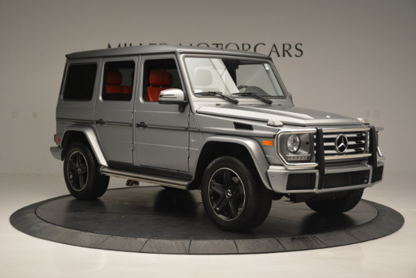 Used 2016 Mercedes-Benz G-Class G 550 for sale Sold at Aston Martin of Greenwich in Greenwich CT 06830 10