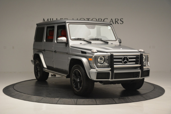 Used 2016 Mercedes-Benz G-Class G 550 for sale Sold at Aston Martin of Greenwich in Greenwich CT 06830 11